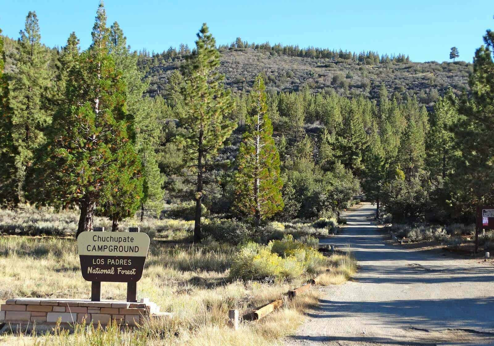 Chuchupate Campground - Parks Management Company - Get